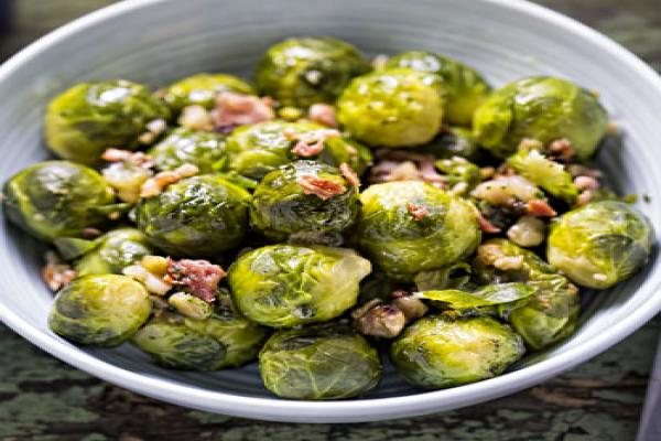 Brussels Sprouts a la Marsala