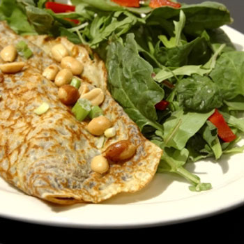 Roasted Corn Crepes