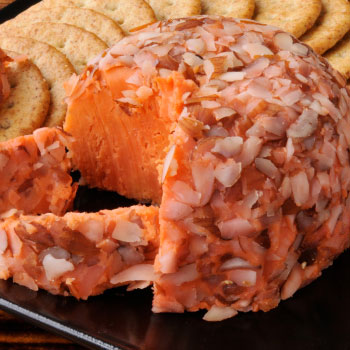 Cheeseball with Nuts & Bacon