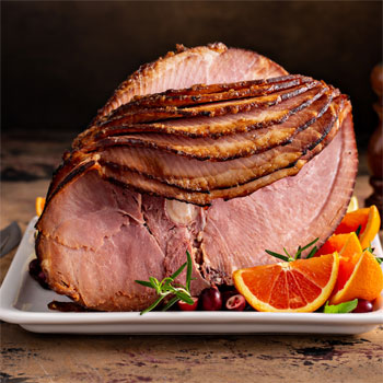 Baked Sweet Spicy Ham
