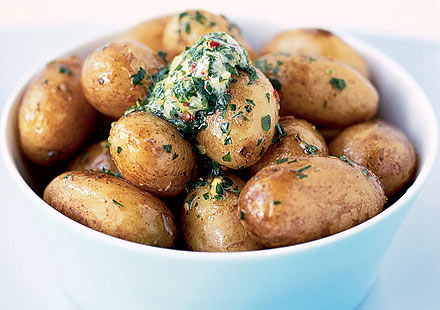 Baked New Potatoes
