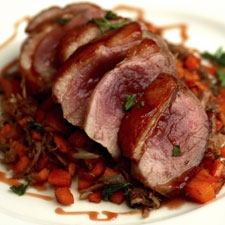 Herbed Duck Breast